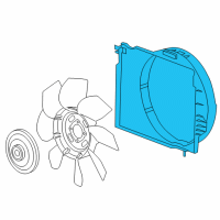 Hummer Fan Shroud - 15207758 and Related Parts