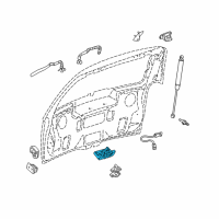 Buick Terraza Tailgate Lock - 10347322 and Related Parts