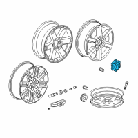 Saturn Wheel Cover - 9597969 and Related Parts