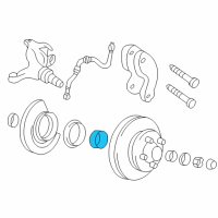 Cadillac Wheel Bearing - 457196 and Related Parts
