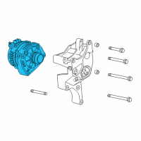GMC Alternator - 22949467 and Related Parts