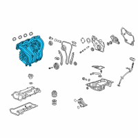 Saturn Intake Manifold - 12578203 and Related Parts