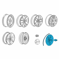 Chevrolet Cruze Wheel Cover - 20934135 and Related Parts