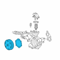 Cadillac Water Pump - 12692045 and Related Parts