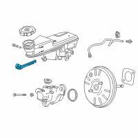 GM Brake Fluid Level Sensor - 13445067 and Related Parts