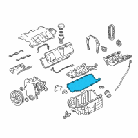 Chevrolet Oil Pan Gasket - 10182387 and Related Parts