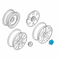 Saturn Wheel Cover - 94710230 and Related Parts