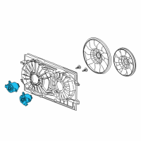 Saturn Aura Fan Motor - 20757662 and Related Parts