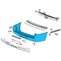 GM Bumper - 23258980 and Related Parts