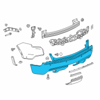 GM Bumper - 84207385 and Related Parts