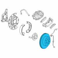 GMC Brake Disc - 25807301 and Related Parts