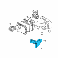 GM Mass Air Flow Sensor - 19112543 and Related Parts
