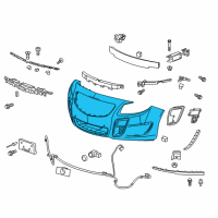 GM Bumper - 22741024 and Related Parts
