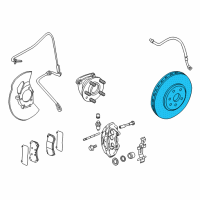 Cadillac Brake Disc - 20795300 and Related Parts