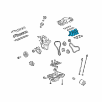 Saturn Intake Manifold - 12602220 and Related Parts