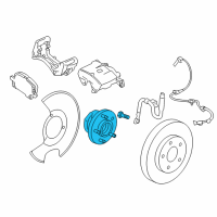 GMC Wheel Bearing - 13507374 and Related Parts