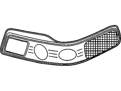 GM 16530163 Capsule Asm,Headlamp(L.H.)