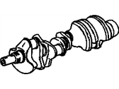 Chevrolet Crankshaft - 12630431