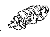 Chevrolet Crankshaft - 88984222