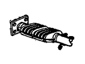 Cadillac Catalytic Converter - 25325284