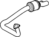 Chevrolet Express 2500 Catalytic Converter - 15010188
