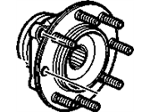 GM Wheel Bearing - 88964168