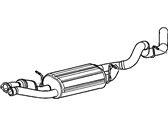GMC Exhaust Pipe - 88983168