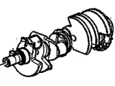 Chevrolet Crankshaft - 12641692