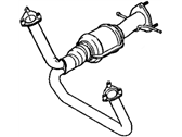 GMC Exhaust Pipe - 15026382