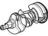 Cadillac Crankshaft - 12653000
