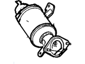 Cadillac Catalytic Converter - 12656410