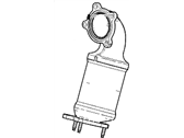Cadillac Catalytic Converter - 12671108