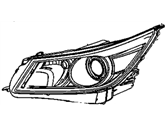 Buick Headlight - 19351926
