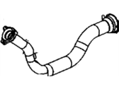 Oldsmobile Exhaust Pipe - 15037288