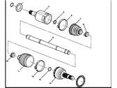 GM Drive Shaft - 96852712