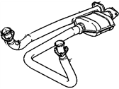 Cadillac Escalade Catalytic Converter - 15733228