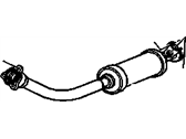 Cadillac Exhaust Pipe - 15746550