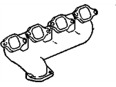 Chevrolet Exhaust Manifold - 12562999
