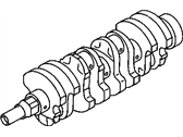 Chevrolet Crankshaft - 94853352