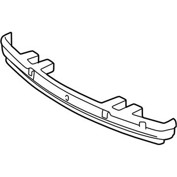 GM 10432676 Absorber-Rear Bumper Fascia Energy