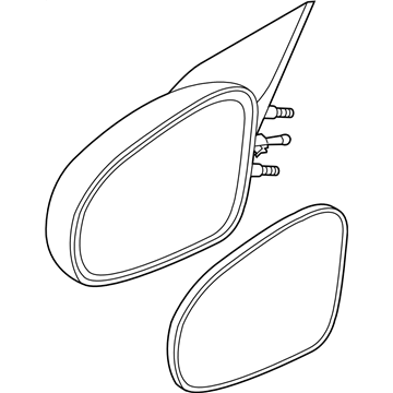 GM 10363817 Mirror Assembly