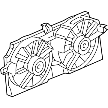 GM 10312887 Shroud