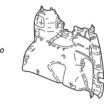 GM 10302097 Panel Asm-Body Side Trim *Neutral