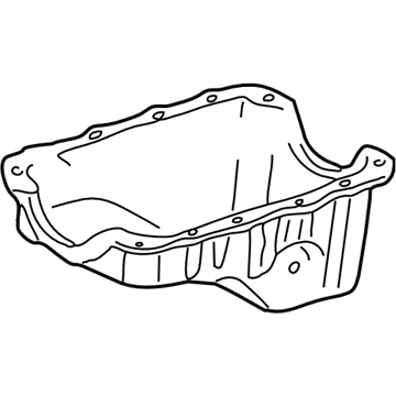 GM 10115790 Oil Pan