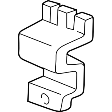 GM 10436462 Bracket-High Mount Stop Lamp