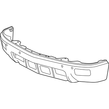 GM OEM Front Bumper-Outer Bracket Bolt 11519537