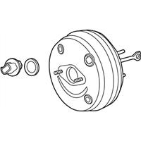 Power Brake Booster General Motors 20877277