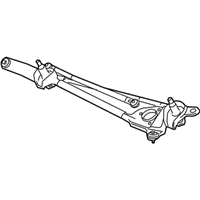 GM 20910182 Transmission Assembly-Windshield Wiper