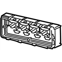 GM 13589030 Control Assembly-Heater & A/C Rem