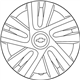 Chevrolet City Express Wheel Cover - 19316551